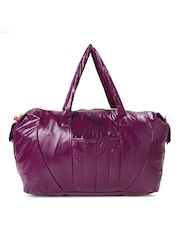 PUMA Women Burgungy Duffel Bag