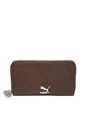 PUMA Women Brown Wallet