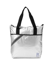 PUMA Silver-Toned Archive Shopper Handbag