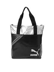 Puma Black Archive Shopper Handbag