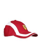 Ferrari Scuderia Men Red Bicolor Scudetto Cap