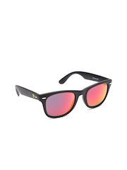 Ferrari Men Mirrored Wayfarer Sunglasses 13242