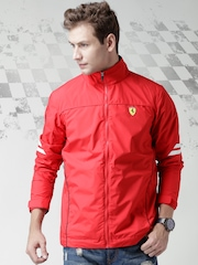 Ferrari Red SF Schudetto Spring Rain Jacket