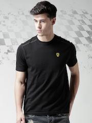 Ferrari Scuderia Black New Small SCUDETTO T-shirt