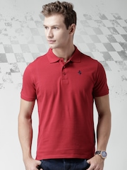 Ferrari Red Classic with P.R.Horse Polo T-shirt