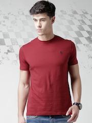 Ferrari Maroon Classic P.R. Horse T-shirt