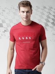 Ferrari Red Evolution Printed T-shirt
