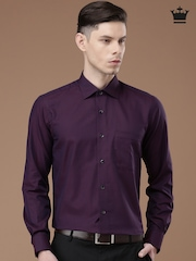 Louis Philippe Purple Formal Shirt