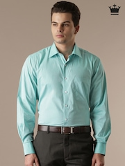 Louis Philippe Blue Classic Fit Formal Shirt