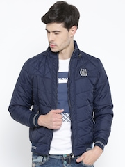 Fort Collins Navy Hooded Padded Jacket