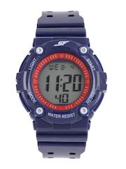Sonata Ocean Series Girls Navy Digital Watch 77042PP04