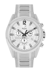 Xylys Men Steel-Toned Dial Chronograph Watch NF40005SM01