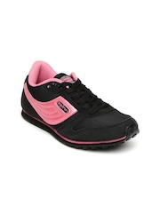 Spinn Women Black & Pink Training Shoes