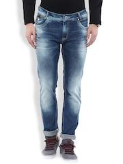 Mufti Blue Super Slim Jeans