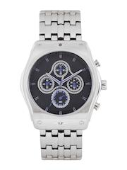 Louis Philippe Men Black Dial Chronograph Watch LYAG515032