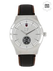 Louis Philippe Men Steel-toned Dial Watch LYAG515043