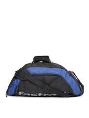 Fastrack Men Black & Blue Duffel Bag