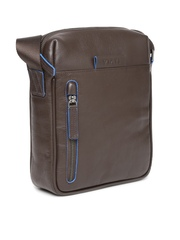 VIARI Men Brown Torino Leather Messenger Bag