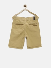 Allen Solly Junior Boys Khaki Shorts