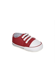 mothercare Boys Red Canvas Shoes