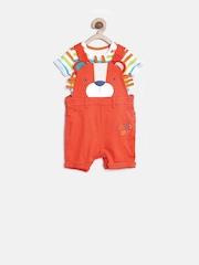 mothercare Boys Orange Clothing Set