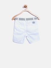 mothercare Boys White Shorts