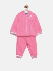 mothercare Girls Pink Clothing Set