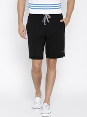 Undercolors of Benetton Men Black Solid Regular Fit Shorts