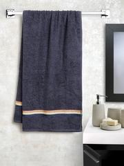 BOMBAY DYEING Navy Cotton 380 GSM Bath Towel