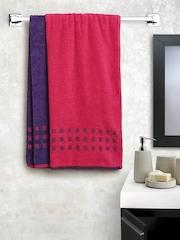 SPACES Atrium Set of 2 Cotton 450 GSM Bath Towels