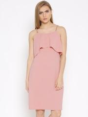 Vero Moda Dusty Pink Layered Dress
