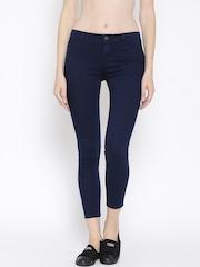 Vero Moda Navy Cropped Jeans