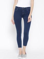 Vero Moda Blue Cropped Jeans