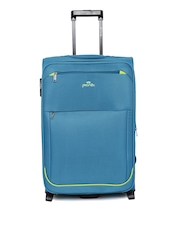 Pronto Unisex Teal Blue Moscow Upright 75 Large Trolley Bag