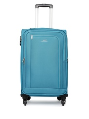 Pronto Unisex Blue Madrid 4 W Spinner 67 Medium Trolley Bag available at Myntra for Rs.2767