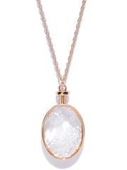 FOREVER 21 Gold-Toned Pendant with Chain