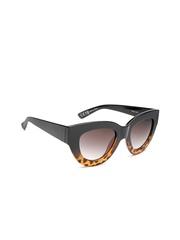 MANGO Women Animal Print Cat Eye Sunglasses 73060071-53