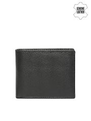 Van Heusen Men Black Genuine Leather Wallet