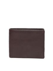 Van Heusen Men Brown Leather Wallet