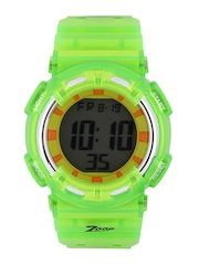 zoop by titan boys green digital chronograph