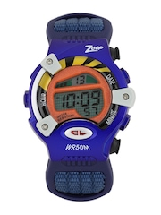 Zoop by Titan Boys Navy Digital Watch NEC3002PV02J