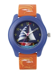 Zoop by Titan Girls Navy Printed Dial Watch 16003PP04J