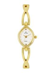Titan Raga Women Off-White Dial Watch NH2250YM07