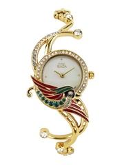 Titan Raga Women Pearly White Dial Watch with Swarovski Elements NH95004YM01J