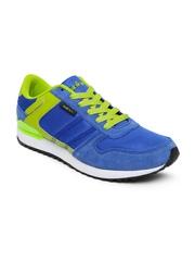 Spinn Men Blue & Green Training Shoes