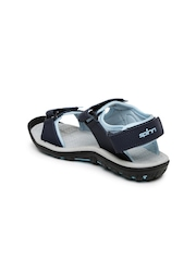 Spinn Women Navy Sports Sandals