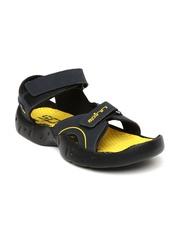 Spinn Men Navy Wink Sports Sandals