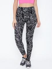 PUMA Black & White Printed Leggings