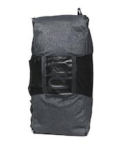 Reebok Unisex Grey RNF Combat Convertible Grip Duffel Bag