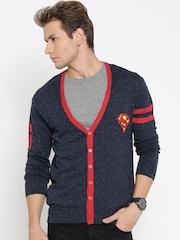 Superman Navy Cardigan